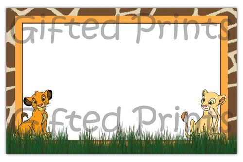 Simba Lion King Envelope