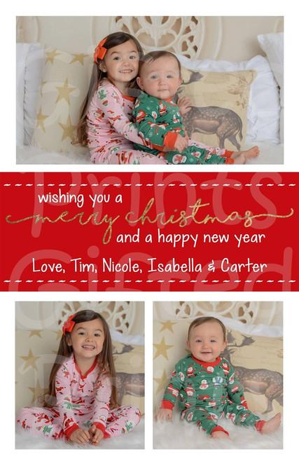 Christmas Holiday Card 1