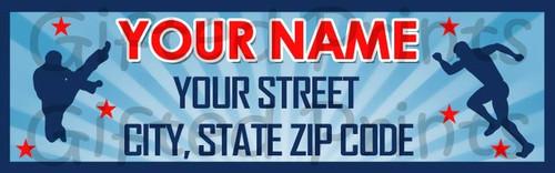 Ninja Warrior Return Address Labels