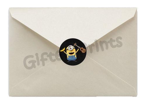 Minions Envelope Seals