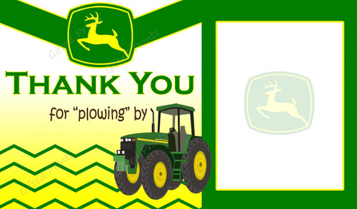 Tractor Thank You Card 1