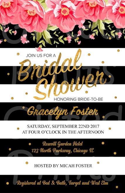 Kate Spade Bridal Shower Invitation