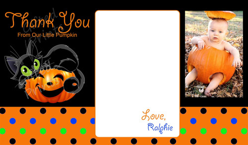 Halloween Thank You Card 2