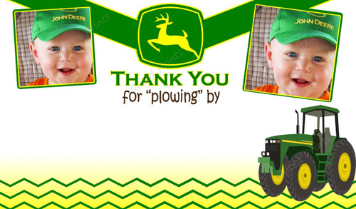 Tractor Thank You Card