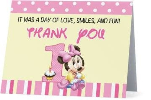 Folded Mouse Thank You Card 1