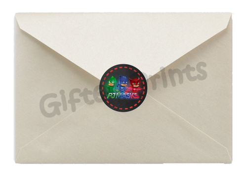 PJ Masks Envelope Seals