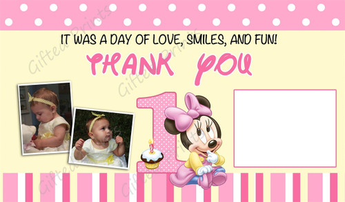 Mouse Thank You Card 2