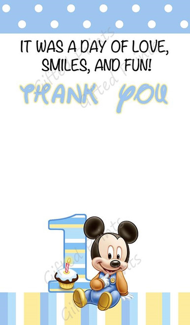 Mouse Thank You Card 1