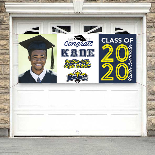 Graduation Banner With Photo
