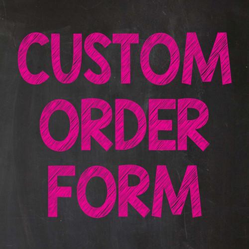 Custom 8x8 Adhesive Banner