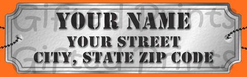 Nerf Return Address Labels