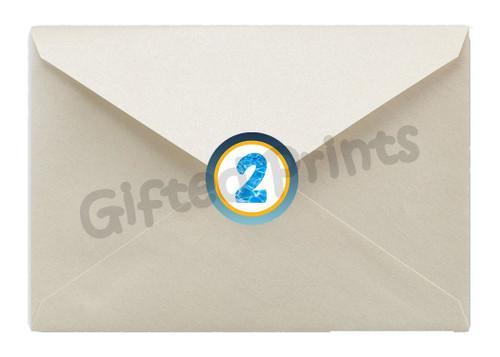 Bubble Guppy Envelope Seals