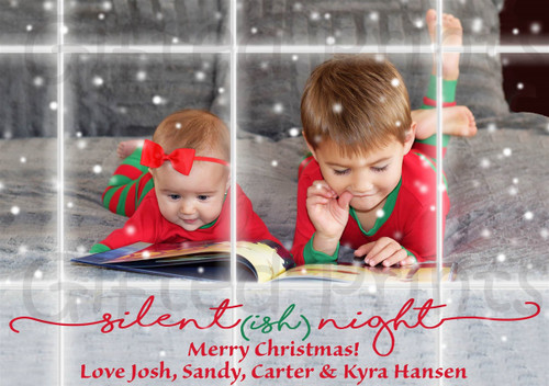 Joy To The World Holiday Card 1