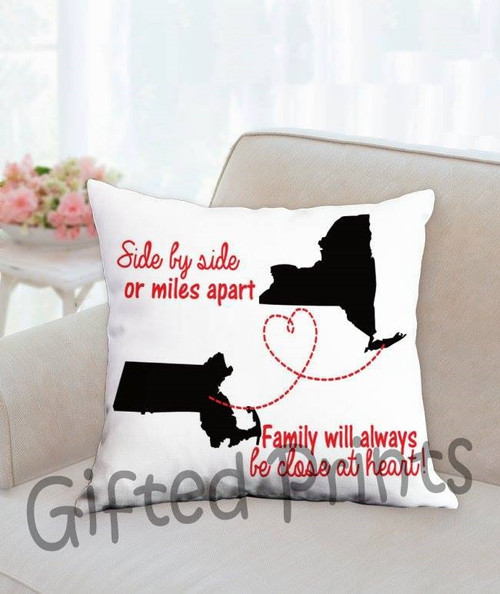 Family Distance Pillow