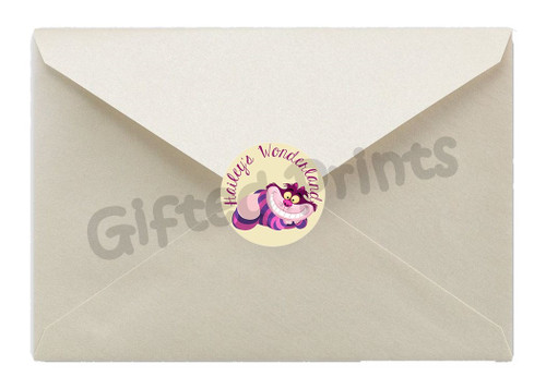 Alice in Wonderland Envelope Seals