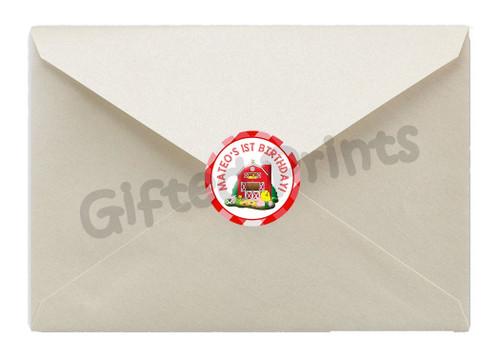 Barnyard Farm Envelope Seals