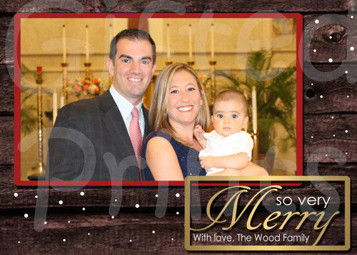 So Very Merry Holiday Card