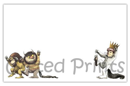Where The Wild Things Are Envelope