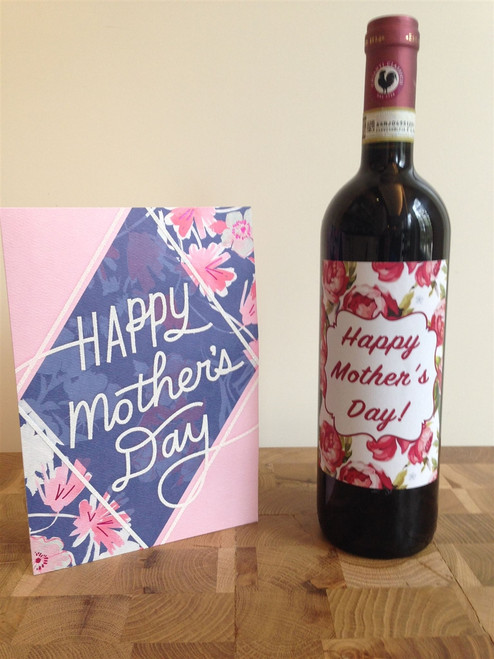 Mother's Day Wine Label 1