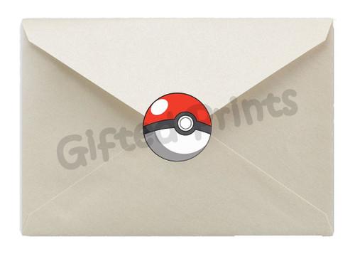 Pokemon Envelope Seals