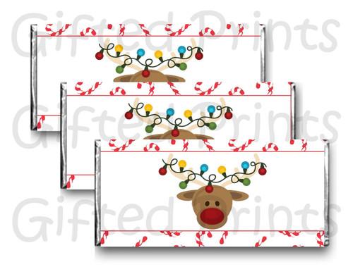 Reindeer Chocolate Wrapper