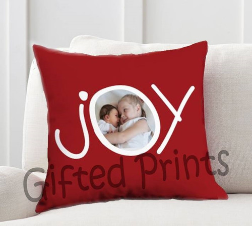 Joy Photo Pillow