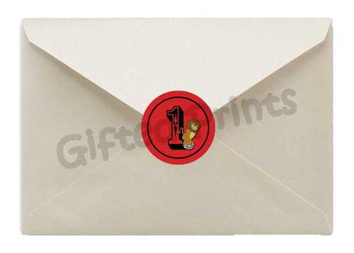 Circus Envelope Seals