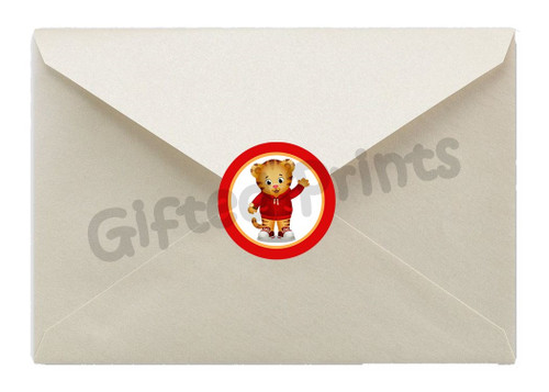 Daniel Tiger Envelope Seals
