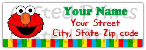 Elmo Sesame Street Return Address Labels 1