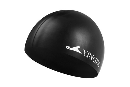 Silicone Swim Cap -Black