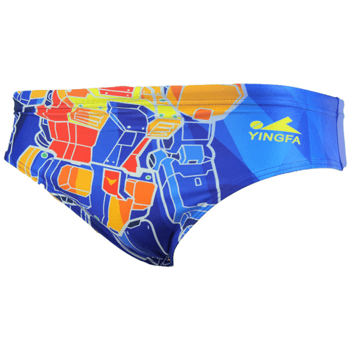9606 Men's Briefs Painted Race-skin