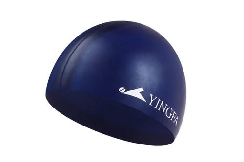 Silicone Swim Cap -Navy