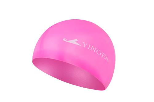 Silicone Swim Cap - Light Pink