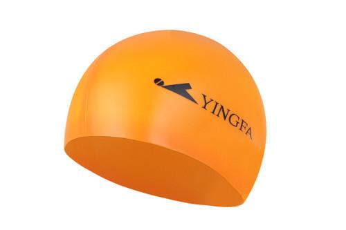 Silicone Swim Cap - Orange