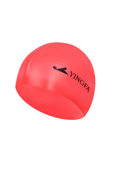 Solid Silicone Cap - Red Pink