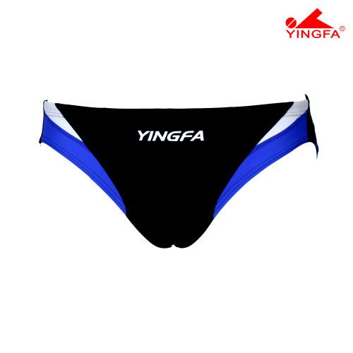 Yingfa YF9462-1 Aquaskin Men's Briefs Black/White/Blue
