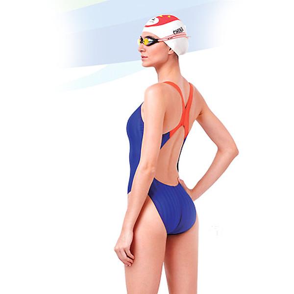 Yingfa YF980 Women's Lightning Shark-Skin Swimsuit - Back