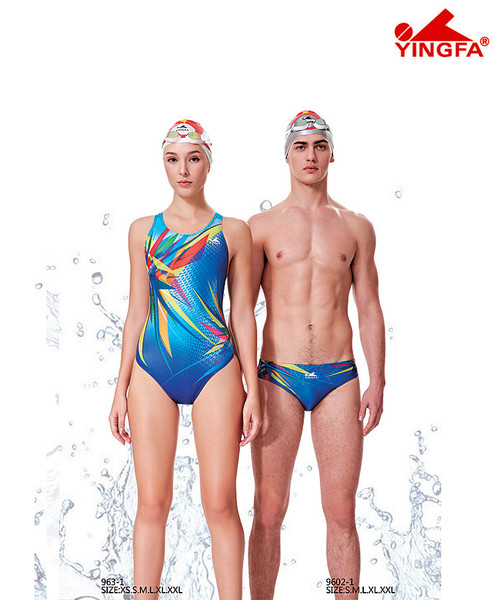 Yingfa 963-1 New Color Race-skin Swimsuits