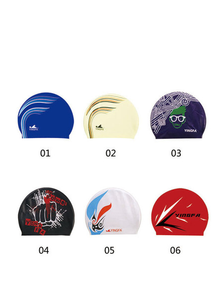 Yingfa Colors Competition Swim Caps ( interior with dots)