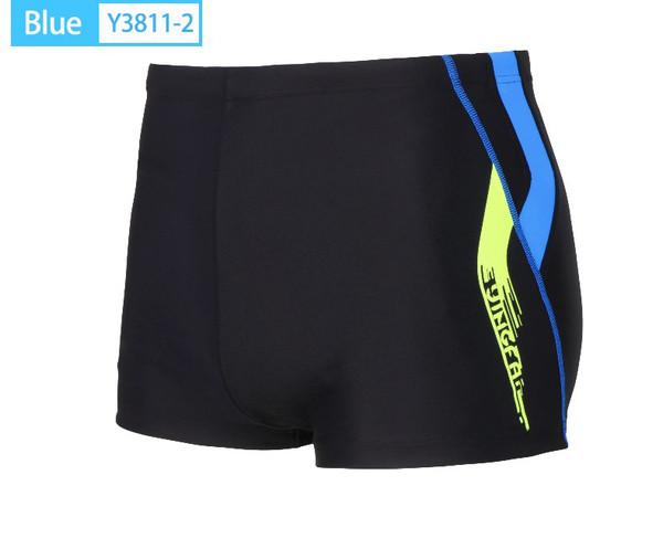 Men's Square Leg Brief Black/Blue