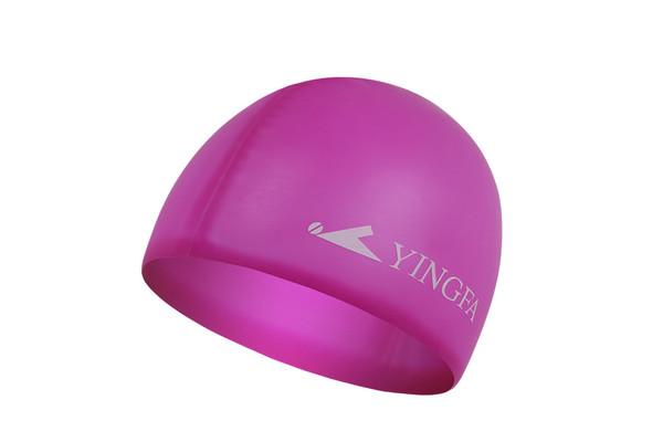 Silicone Swim Cap - Magenta