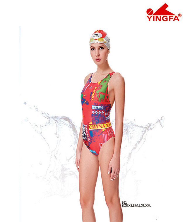 Yingfa 961 New Color Race-skin Swimsuits
