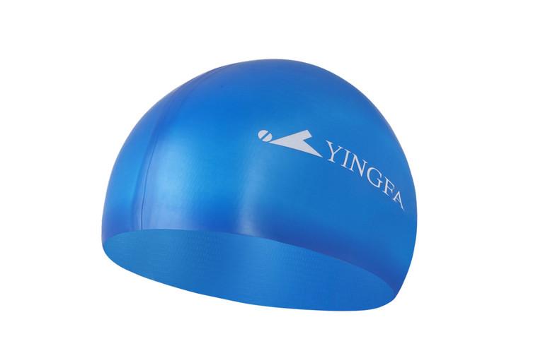 Silicone Swim Cap -Blue