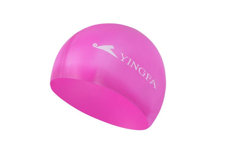 Silicone Swim Cap - Pink
