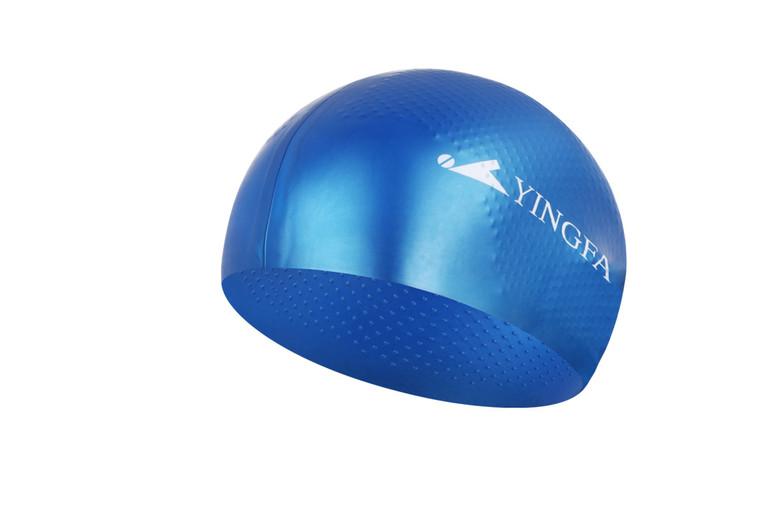 Solid Silicone Cap -  Blue
