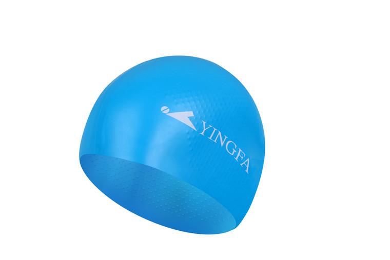Solid Silicone Cap -  Light Blue
