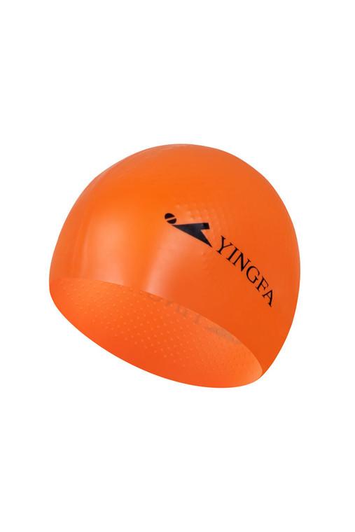 Solid Silicone Cap - Orange