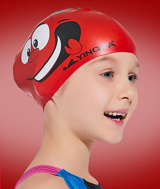 Kid Cartoon Cap - Tomato