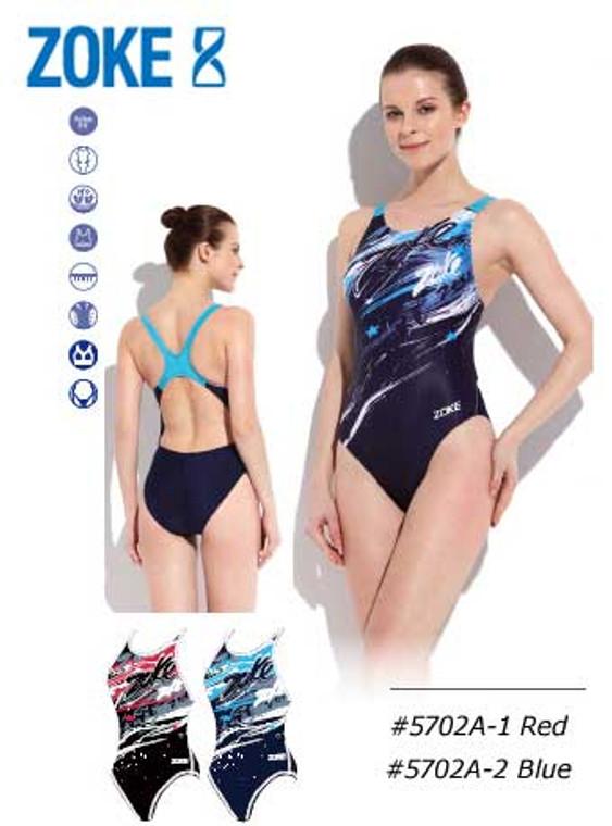 Zoke Stars Girl's One Piece Swim Suits