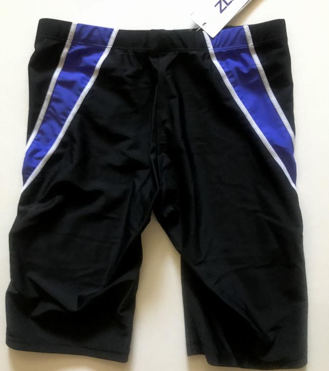 6971-4 Men Swim Jammers -Black/Blue